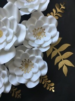 Details of the paper flowers