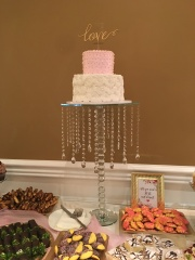 Beautiful bridal shower cake